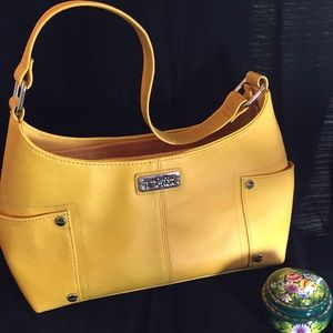👜NWOT Kenneth Cole Reaction Yellow Bag